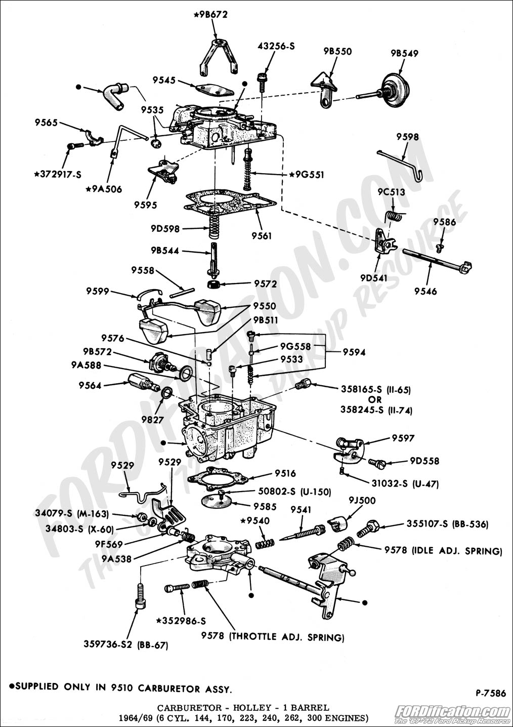 ford 302 4 barrel carburetor